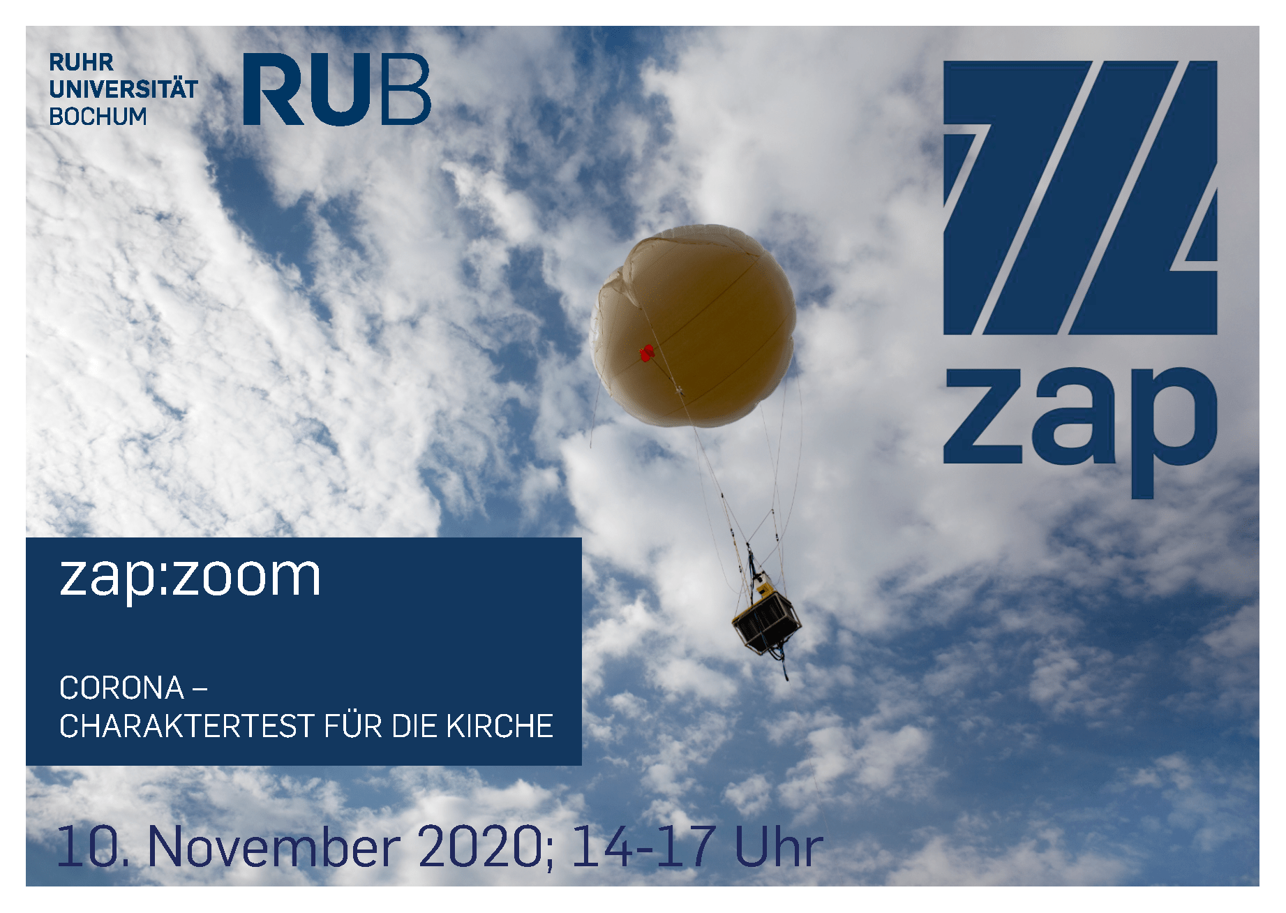 zap:zoom November Flyer vorne